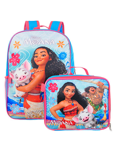 Disney Moana Backpack with Insulated Lunchbox - CookiesKids.com