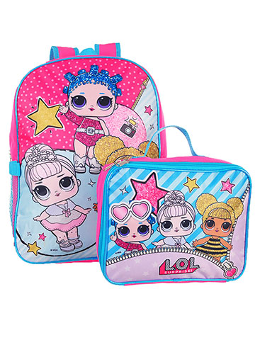 LOL Surprise Backpack with Insulated Lunchbox - CookiesKids.com