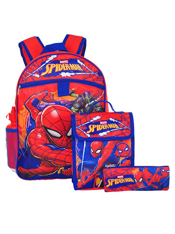 Spider-Man 5-Piece Backpack Set - CookiesKids.com