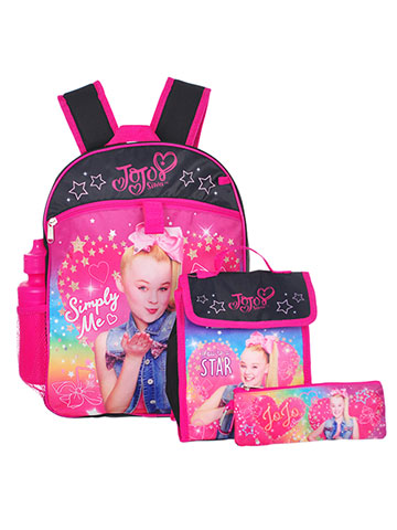 Jojo Siwa 5-Piece Backpack Set - CookiesKids.com
