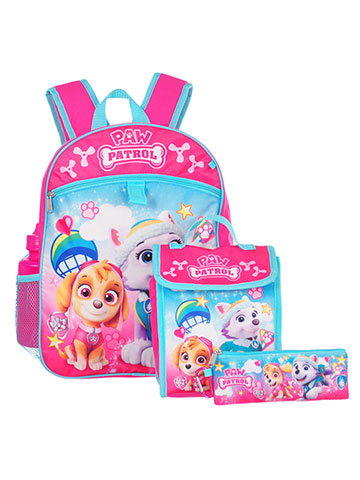 Paw Patrol 5-Piece Backpack Set - CookiesKids.com