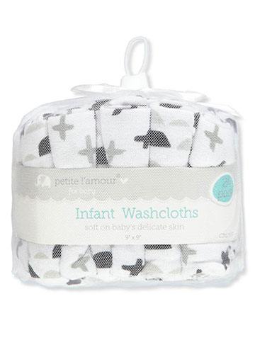 Cribmates Baby 24-Pack Terry Washcloths - CookiesKids.com