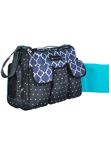 Petite L'Amour Duffle Diaper Bag with Changing Pad - CookiesKids.com