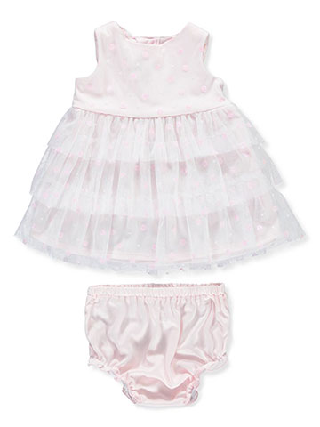 Pretty as a Picture Baby Girls' Dress with Diaper Cover - CookiesKids.com