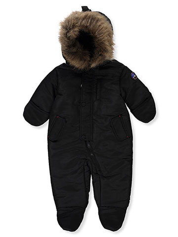 be6a67942 Rothschild Baby Boys' Insulated Pram Suit
