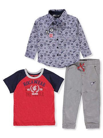 Rocawear Boys' 3-Piece Pants Set Outfit - CookiesKids.com