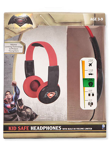 Batman v Superman Headphones - CookiesKids.com
