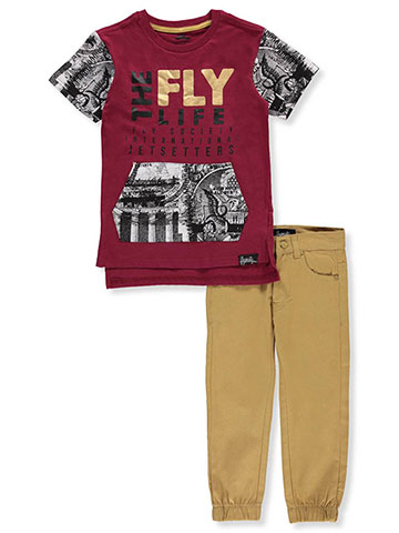 Fly Society Boys' 2-Piece Pants Set Outfit - CookiesKids.com