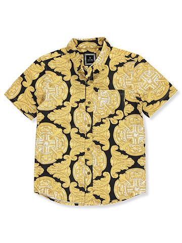 3c6d6119f CR-24 Boys' S/S Button-Down Shirt