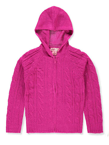 Pink Angel Girls' Hooded Sweater - CookiesKids.com