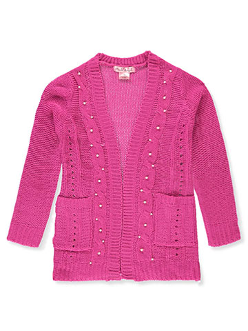 Pink Angel Girls' Cardigan - CookiesKids.com