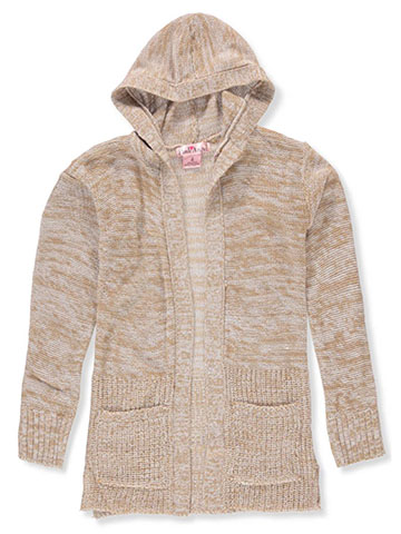 Pink Angel Girls' Hooded Cardigan - CookiesKids.com
