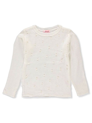 Pink Angel Girls' Sweater - CookiesKids.com