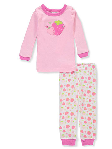 Sweet & Soft Baby Girls' 2-Piece Pajama Set - CookiesKids.com