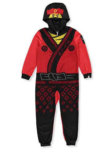 Lego Ninjago Boys'1-Piece Hooded Pajamas - CookiesKids.com