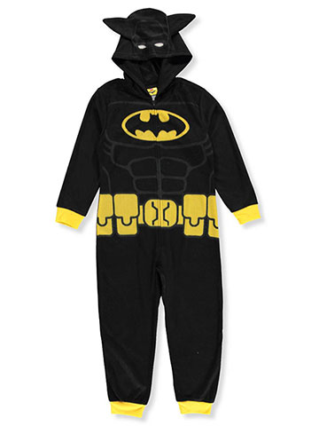 Lego Batman Boys'1-Piece Hooded Pajamas - CookiesKids.com