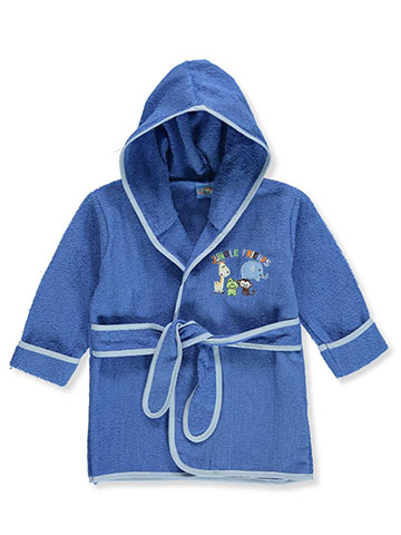 Sweet & Soft Baby Boys' Hooded Bathrobe - CookiesKids.com