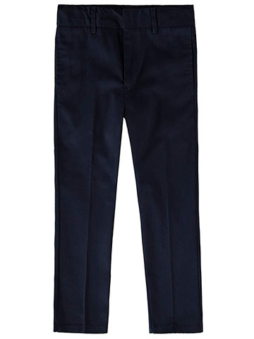 Smith's American Boys' Flat Front Twill Pants - CookiesKids.com