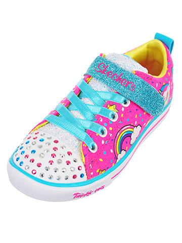 Skechers Girls' Light-Up Sneakers (Sizes 11 – 3) - CookiesKids.com