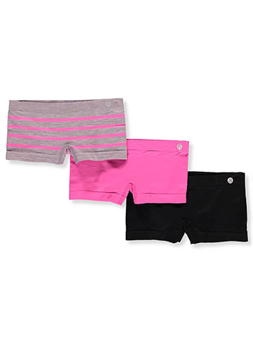 Layer 8 Girls' 3-Pack Boyleg Shorts - CookiesKids.com
