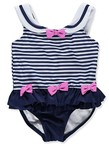 Sol Swim Baby Girls' 1-Piece Swimsuit - CookiesKids.com