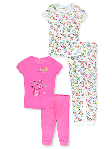 Freestyle Revolution Girls' 4-Piece Pajama Set - CookiesKids.com