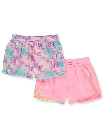 Freestyle Revolution Girls' 2-Pack Shorts - CookiesKids.com