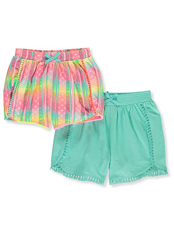 b256399d Freestyle Revolution Girls' 2-Pack Shorts