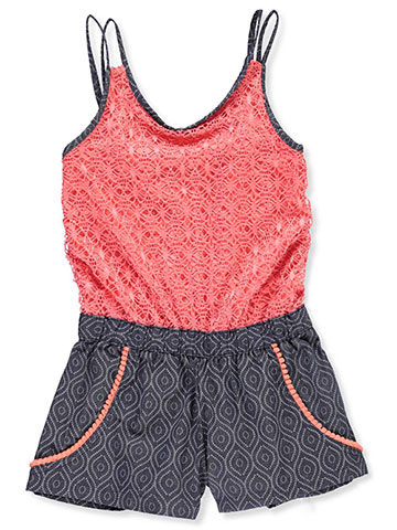 One Step Up Girls' Romper - CookiesKids.com