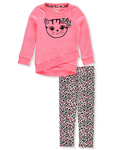 Colette Lilly Girls' 2-Piece Leggings Set Outfit - CookiesKids.com