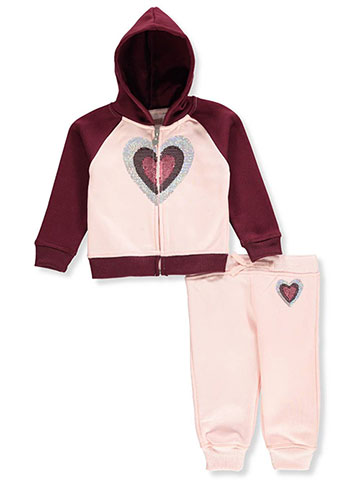 Colette Lilly Baby Girls' 2-Piece Sweatsuit Pants Set - CookiesKids.com