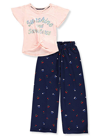 One Step Up Girls' 2-Piece Pants Set Outfit - CookiesKids.com