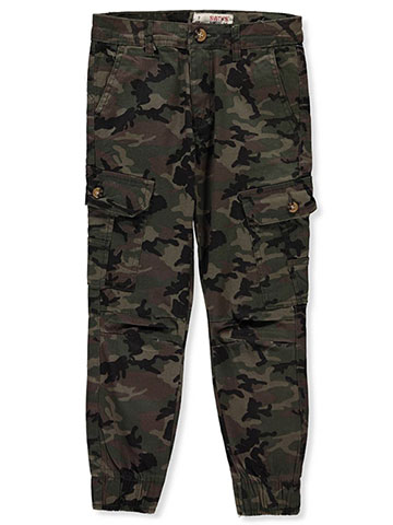 Smith's American Boy's Twill Cargo Joggers - CookiesKids.com