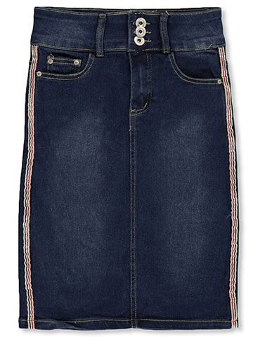 Nicole Premium Jeans Girls' Denim Pencil Skirt - CookiesKids.com