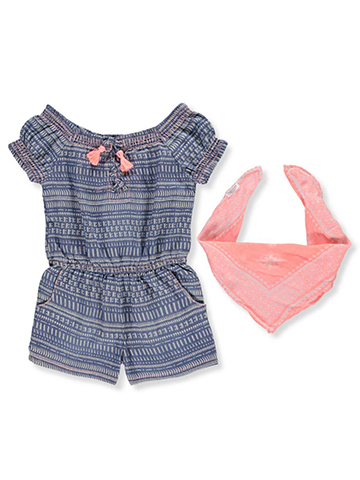 Limited Too Girls' Romper with Bandana - CookiesKids.com