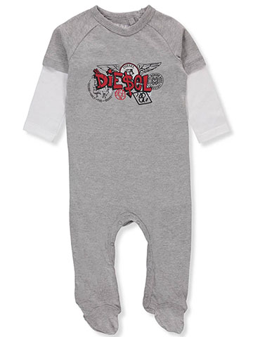 Diesel Baby Boys' L/S Footed Coverall - CookiesKids.com