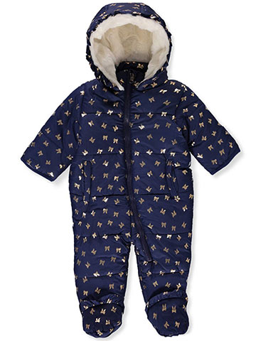 Jessica Simpson Baby Girls' Insulated Pram Suit - CookiesKids.com