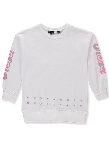 Diesel Girls' French Terry Sweater - CookiesKids.com