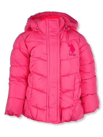 U.S. Polo Assn. Baby Girls' Insulated Jacket - CookiesKids.com