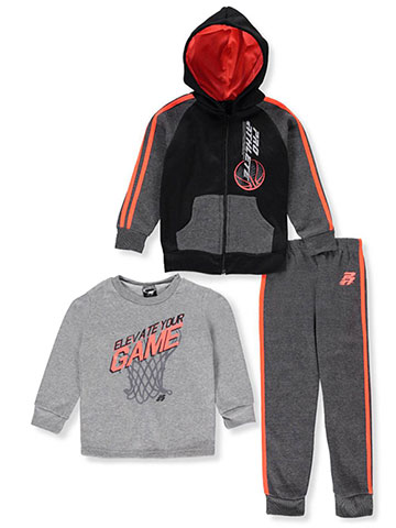 Pro Athlete Boys' 3-Piece Sweatsuit Pants Set - CookiesKids.com