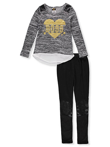 Diva Girls' 2-Piece Leggings Set Outfit - CookiesKids.com