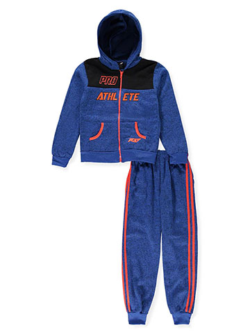 Pro Athlete Boys' 2-Piece Sweatsuit Pants Set - CookiesKids.com