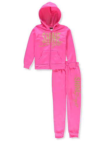 Diva Girls' 2-Piece Sweatsuit Pants Set - CookiesKids.com