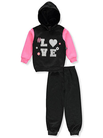 Angel Face Girls' 2-Piece Sweatsuit Pants Set - CookiesKids.com