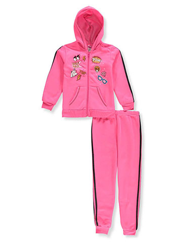 Chillipop Girls' 2-Piece Sweatsuit Pants Set - CookiesKids.com