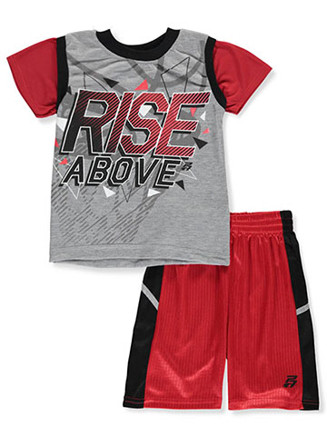 Pro Athlete Boys' 2-Piece Shorts Set Outfit - CookiesKids.com