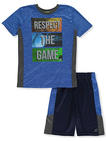 Pro Athlete Boys' 2-Piece Performance Shorts Set Outfit - CookiesKids.com