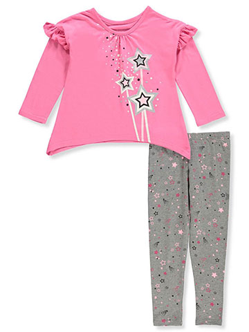 Kidtopia Girls' 2-Piece Leggings Set Outfit - CookiesKids.com