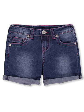 True Religion Girls' Boyfriend Shorts - CookiesKids.com