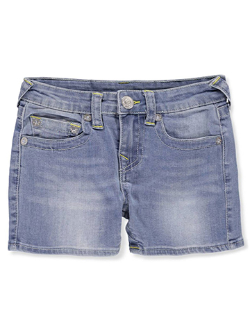 True Religion Girls' Cutoff Shorts - CookiesKids.com